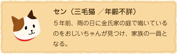 セン(三毛猫)